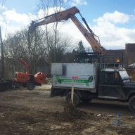 Site clearance in Chichester