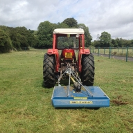 Paddock maintenance in Hambledon
