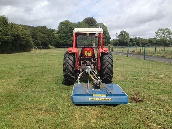 Paddock maintenance in Hambledon