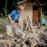 Processing firewood
